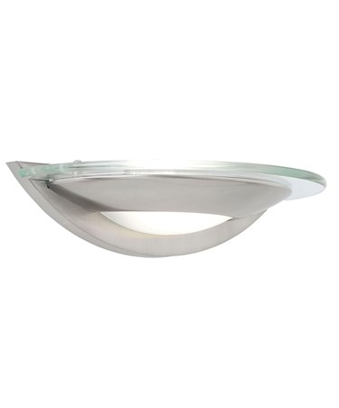 Endon Firenz Satin Chrome Wall Light