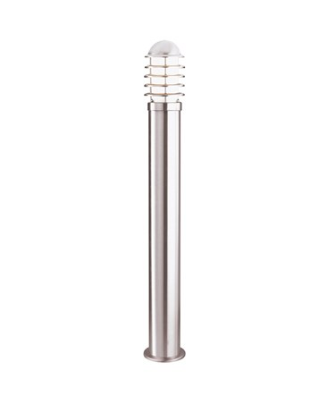 Searchlight Outdoor Post Light Cylinder Bollard - Stainless Steel - 900Mm - Ip44