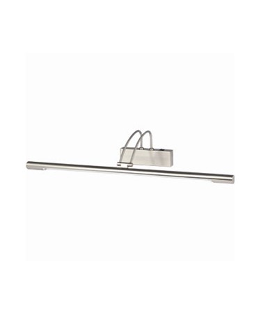 Searchlight Adjustable Picture Light - Satin Silver - 68Cm - Switched