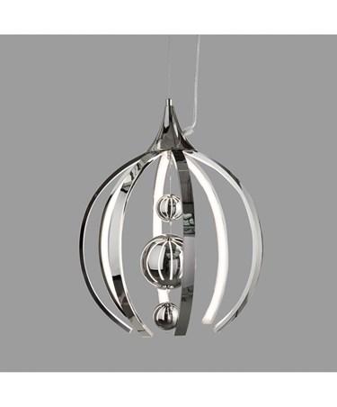 Modern Chrome LED Ceiling Pendant Suspension Light Fitting