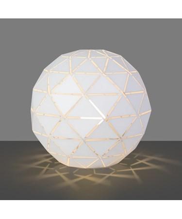 Modern Geometric Origami Metal Ball Desk / Bedside / Table Lamp / Light