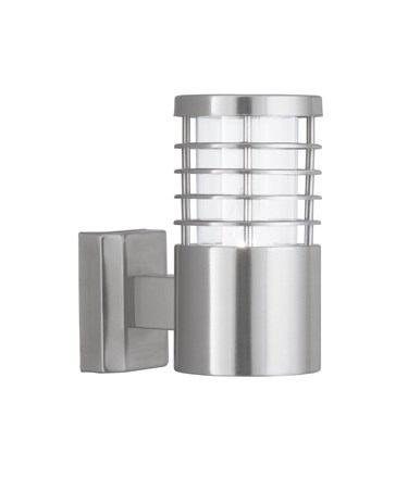 Searchlight Modern Outdoor Wall Light - Stainless Steel - IP44
