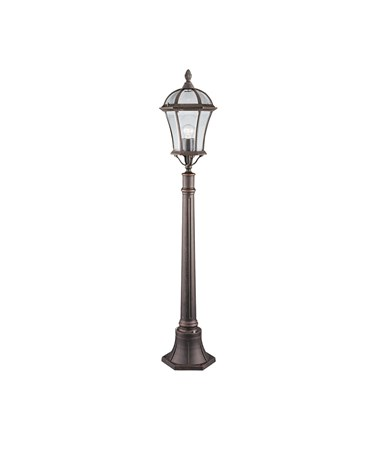 Searchlight Capri Outdoor Post Light - Rustic Brown - 950Mm - Ip44