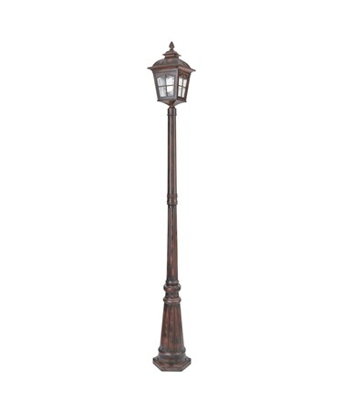 Searchlight Pompeii Large Outdoor Post Light - Brown Stone Finish - Ip44