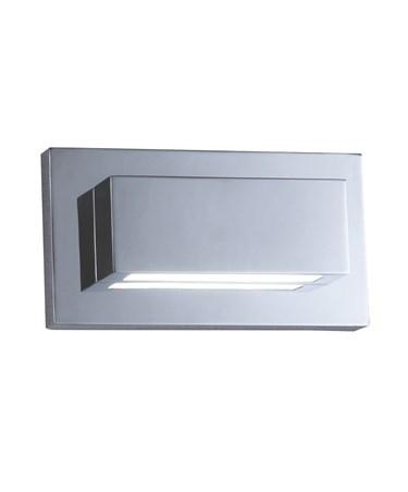 Searchlight Oblong Led Wall Up & Down Light - Chrome -2 Led