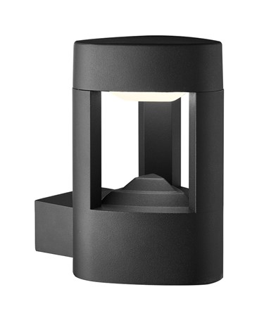 Searchlight Led Outdoor Wall Light - Dark Grey - Ip44