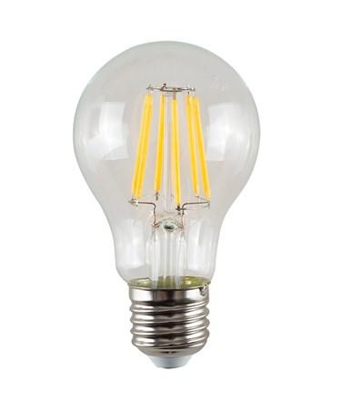 6W ES/Edison Screw A60 GLS Clear Filament LED Light Bulb - Warm White