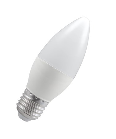 5.5W ES/Edison Screw Candle Shape LED Light Bulb - Warm White