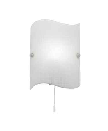 Endon Wave Glass Wall Light