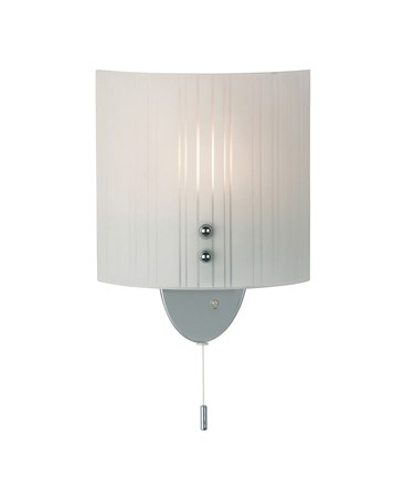 Endon Form Frosted Glass Wall Light