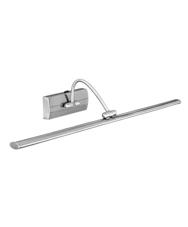 Searchlight Led Picture Light - Satin Silver - Arched Arm - Adjustable