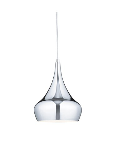 Searchlight Chrome Yurt Pendant Light - 24Cm Diameter