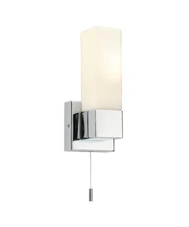 Endon Square IP44 40W Bathroom Wall Light