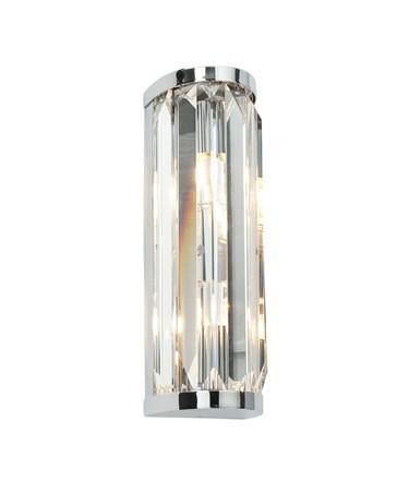 Endon Crystal IP44 18W Bathroom Wall Light