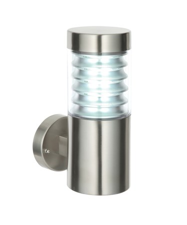 Endon Equinox LED Outdoor Wall Light - Marine Grade Stainless Steel - IP44