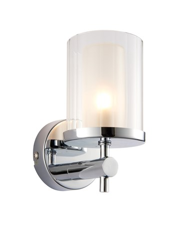 Endon Britton IP44 18W Bathroom Wall Light