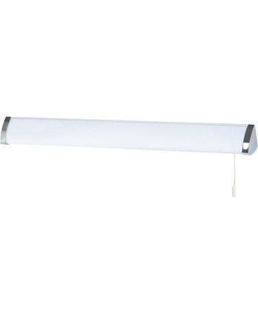 Searchlight Bathroom Wall Light - Triangular - T5 Tube - Pull Cord - 65 Cm