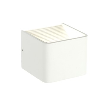 Endon Slater Small Up & Down LED Wall Light - White