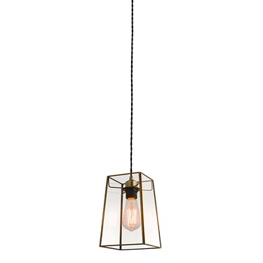 Endon Beaumont Non Electric Pendant - Clear Glass
