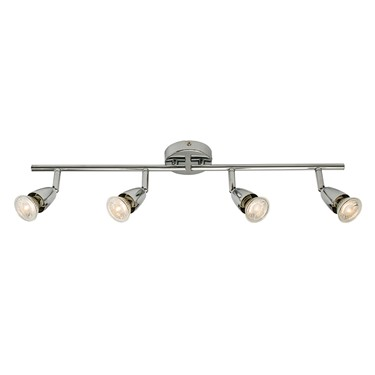 Endon Amalfi 4 Light Bar Spotlight - Adjustable - Chrome