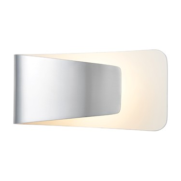Endon Jenkins LED Wall Light - Polished Aluminium