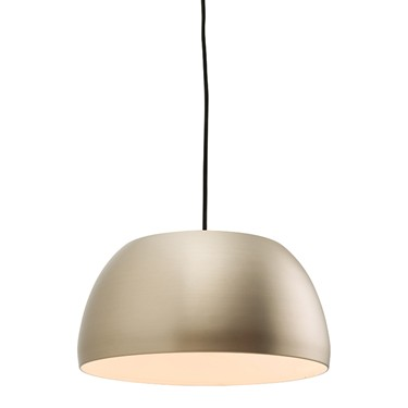 Endon Connery Pendant Ceiling Light - Matt Nickel