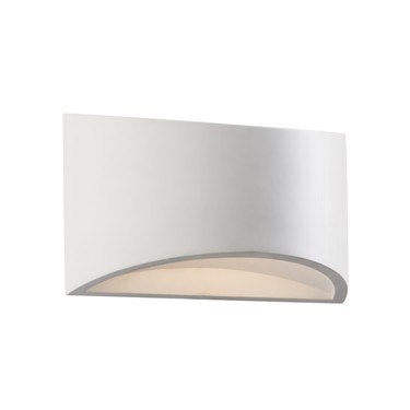 Endon Toko 200mm Warm LED Wall Light - White