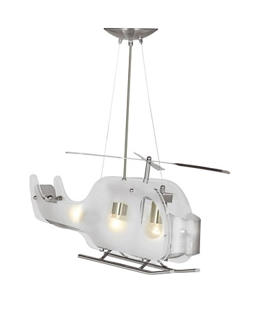 Searchlight Novelty Helicopter Pendant Ceiling Light - High Quality