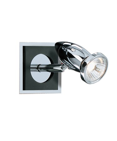 Searchlight Comet Wall Spotlight - Chrome & Black