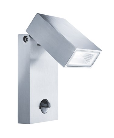 Searchlight Outdoor Led Wall Light - Stainless Steel - Pir Motion Sensor