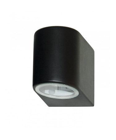 Searchlight Outdoor & Porch Wall Downlight - Black - Ip44
