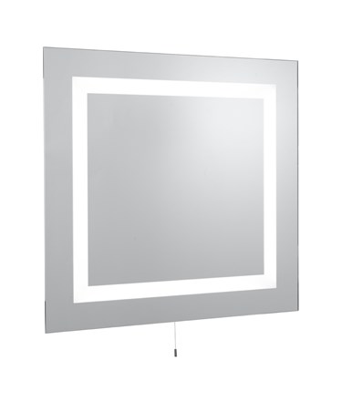 Searchlight Bathroom Mirror Light - Rectangular - T5 - Pull Cord - Ip44