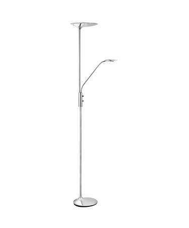 Searchlight Led Mother & Child Floor Lamp - Chrome