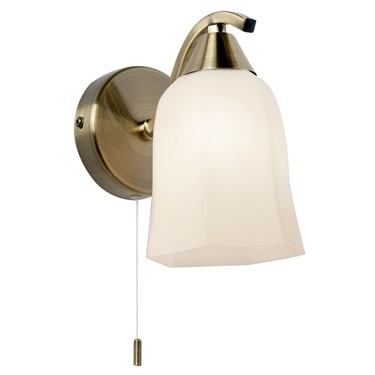 Endon Alonso Wall Light - Antique Brass