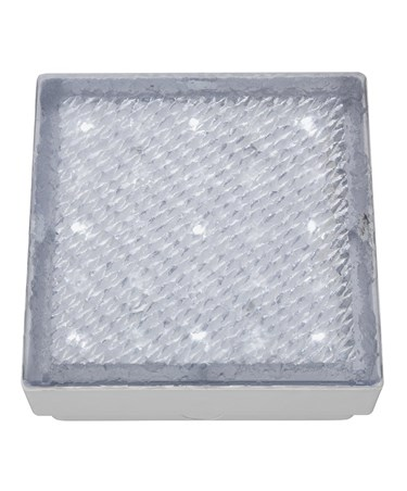 Searchlight Led Recessed Indoor & Outdoor White Square Walkover Light 8Cm - Ip68