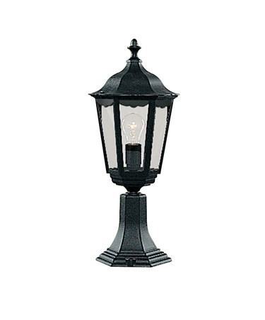 Searchlight Alex Traditional Outdoor Post Lamp - Small - 1 Light - Black