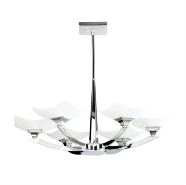 Endon Ayres Semi Flush Ceiling Fitting - 6 Light