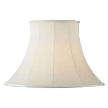Endon Carrie Cream Round Bell Lamp Shade