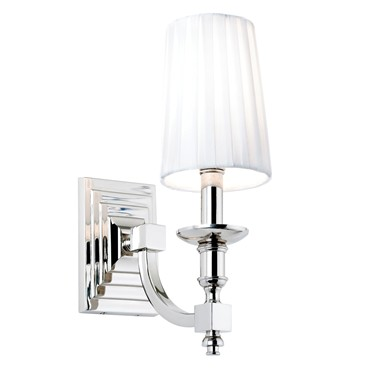 Endon Domina Wall Light - Nickel