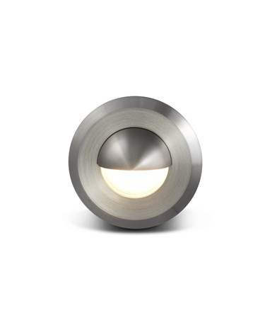 Elipta Smoothie Stainless Steel Eyelid Recessed Light