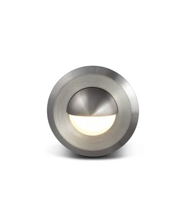 Elipta Smoothie Stainless Steel Eyelid Recessed Light
