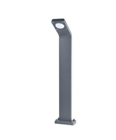 Elipta Insika Modern LED Bollard Light - Graphite Grey - Warm White