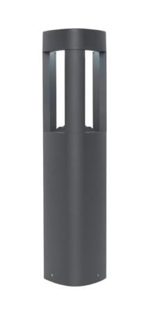 Endon LED Black Cube Post Light