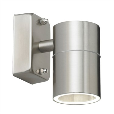 Endon Stainless Steel Single Outdoor Wall Light