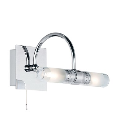 Endon Shore curved IP44 33W Bathroom Wall Light