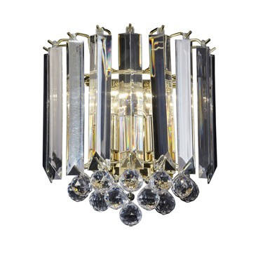 Endon Fargo Wall Light - Brass