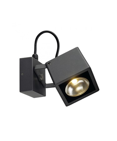 SLV Big Square Nautilus LED Modern Outdoor Wall Light