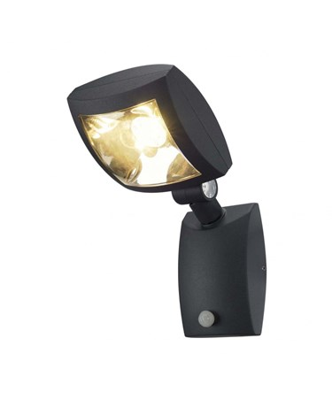 SLV Mervaled S Anthracite Powerful LED Adjustable Outdoor Spotlight