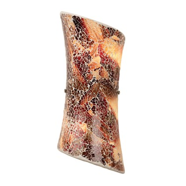 Endon Marconi Wall Light - Dark Glaze