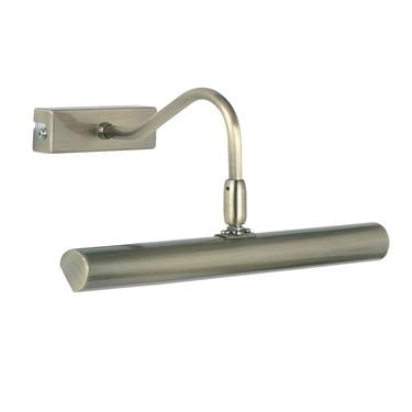 Endon Linton LED Picture Light - Antique Brass